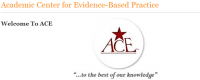 Academic Center for Evidence-Based Practice